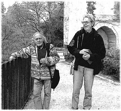 Puy-l'Évêque, 16 aprile 2016, Jacques e Armando.