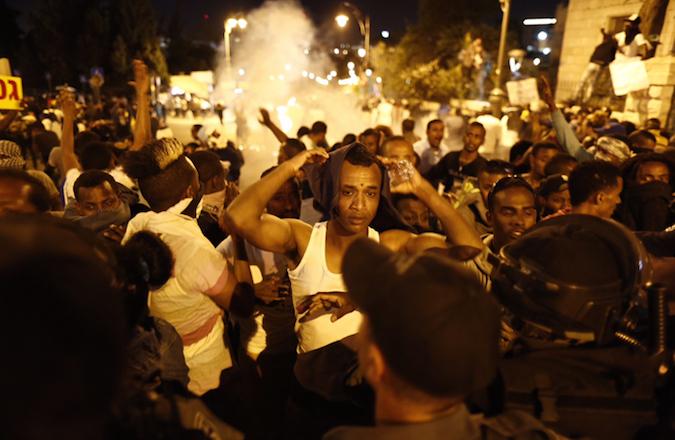 Israel-riot